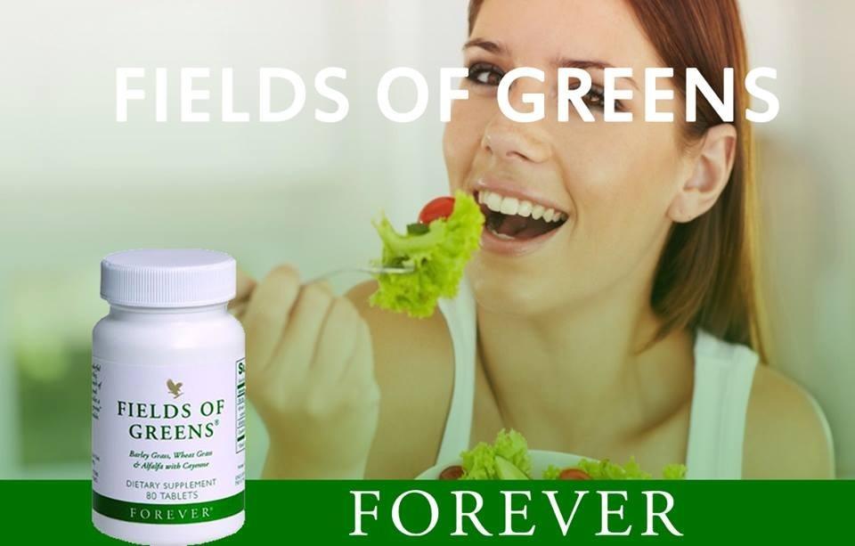 Odaberite zdravlje, odaberite FIELDS OF GREENS !