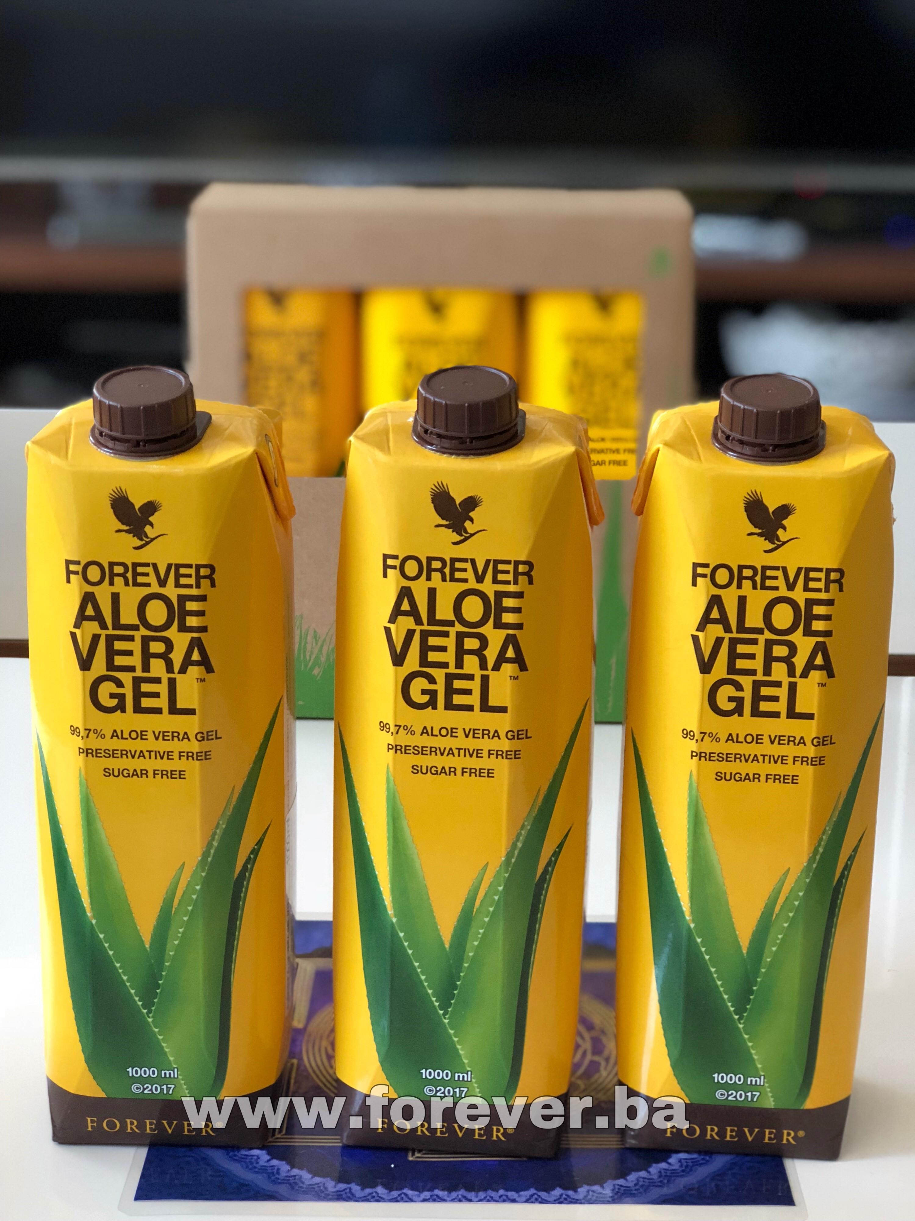 3 Litra Aloe vera gela