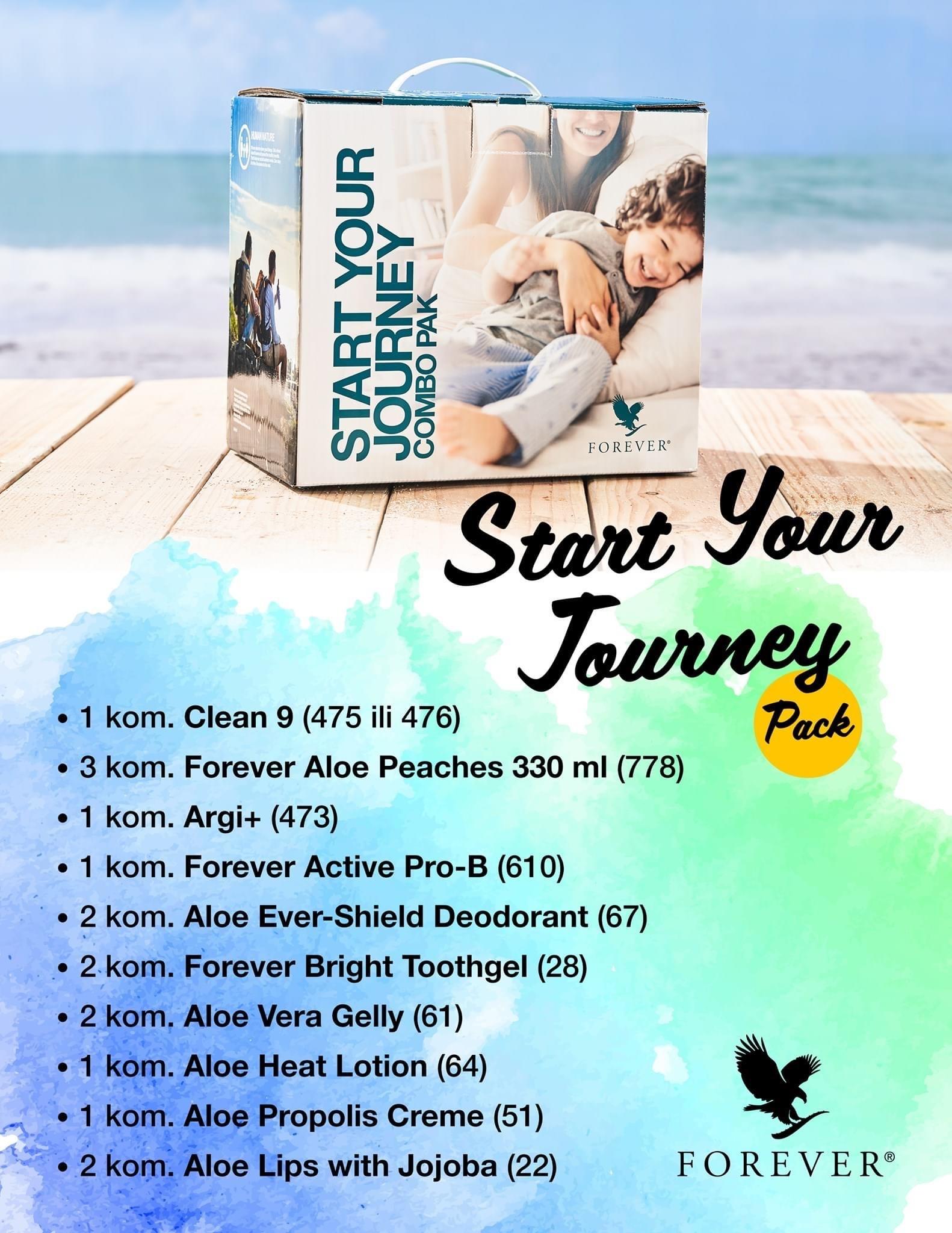 Start Your Yourney (Start Paket)